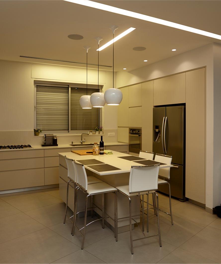 פתרונות תאורה למטבח - הדר ברדה