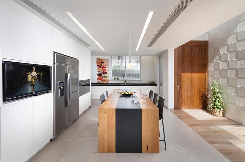 עיצוב תאורה למטבח - הדר ברדה